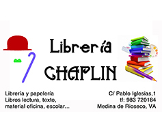 LIBRERÍA CHAPLIN