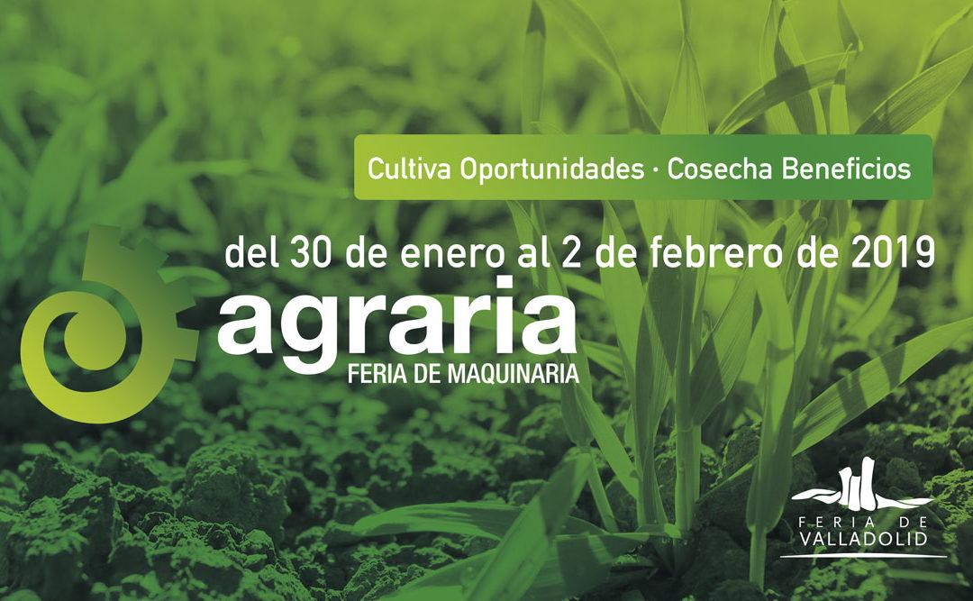 Llega la 6ª edición de Agraria con un espacio reservado para la agricultura 4.0 con soluciones tecnológicas