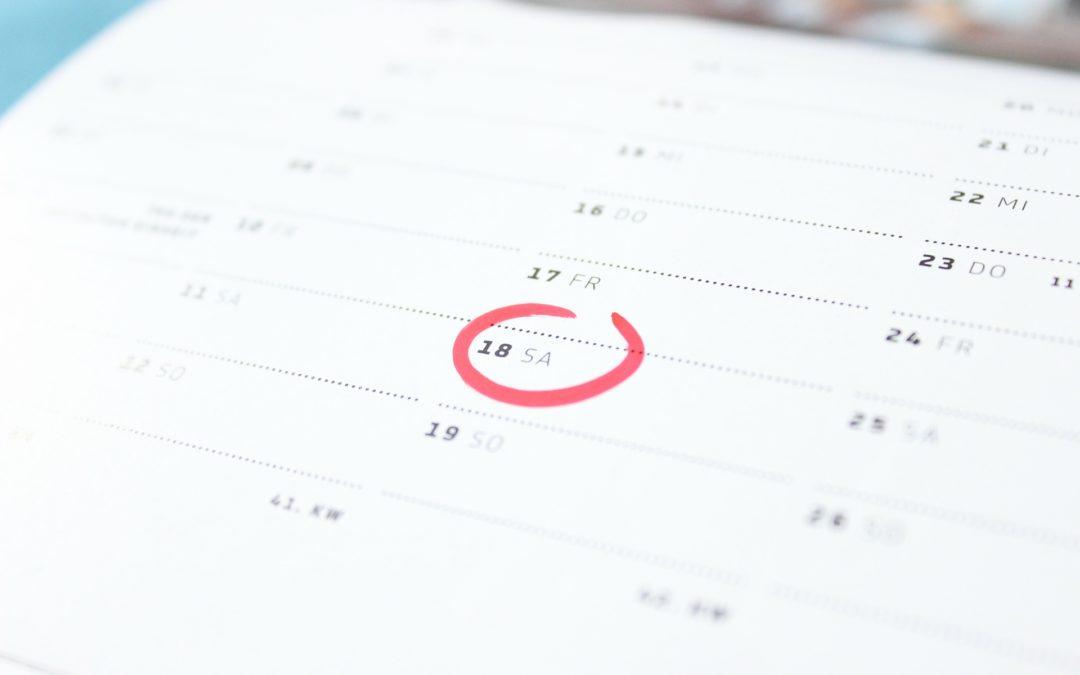 Conoce el calendario fiscal de febrero