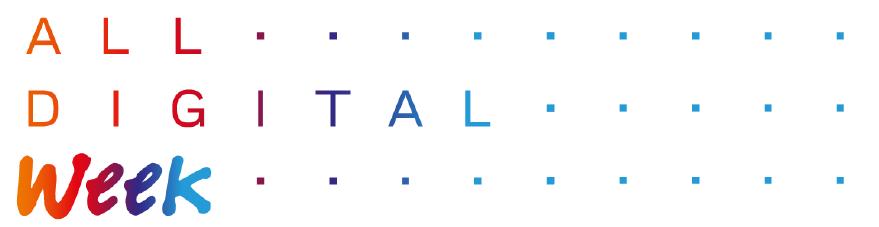 La 'ALL DIGITAL WEEK' se desarrollará del 25 al 31 de marzo